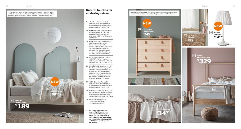 bedroom  2019 ikea catalog with images  ikea catalog