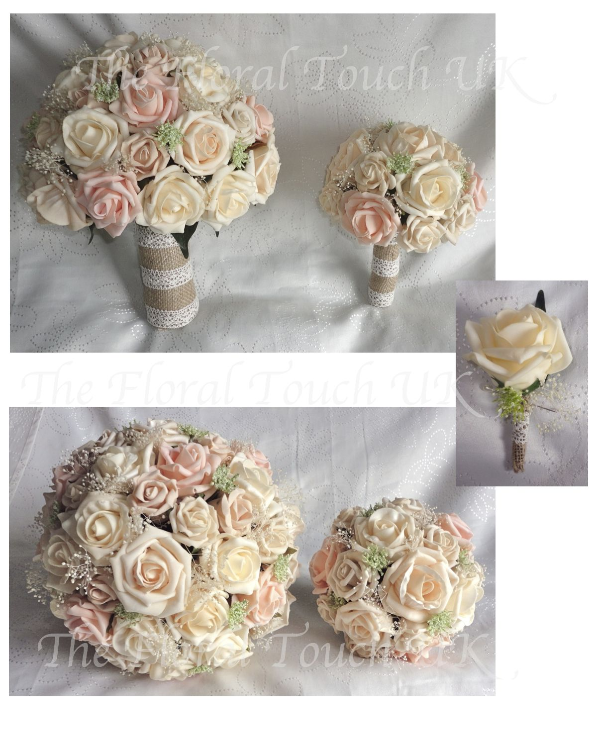 Silk Wedding Bouquets The Floral Touch Uk South Yorkshire 97