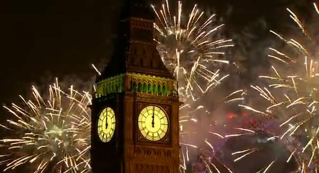 New Year 2014 Eve Celebrations Around The World Videos London Fireworks Celebration Around The World London Night