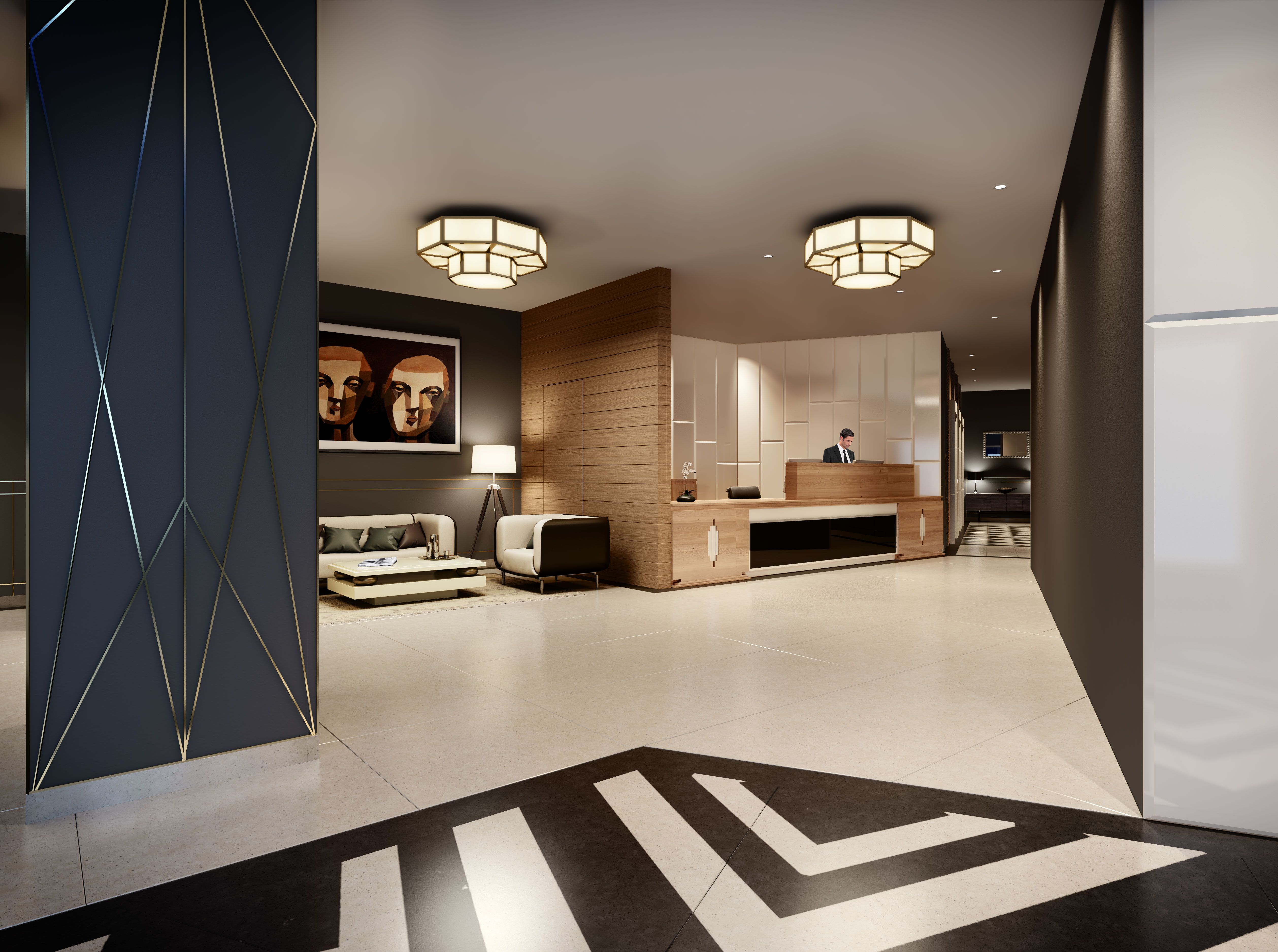 The Lobby | Luxury apartments, London apartment, New homes ...