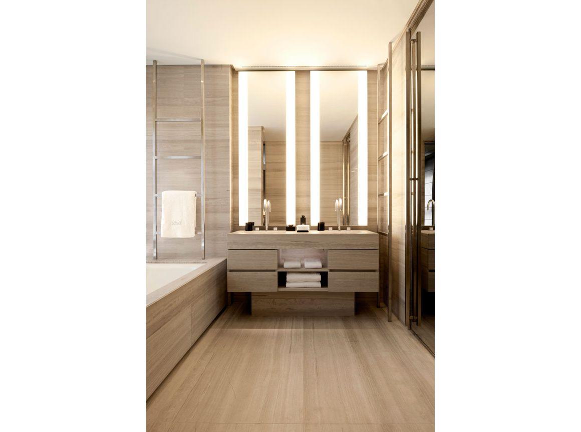 Badkamer Modern Klein : L hôtel armani à milan badkamers salle de bain salle en salle