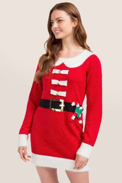 Women's Statement Sweater Dress