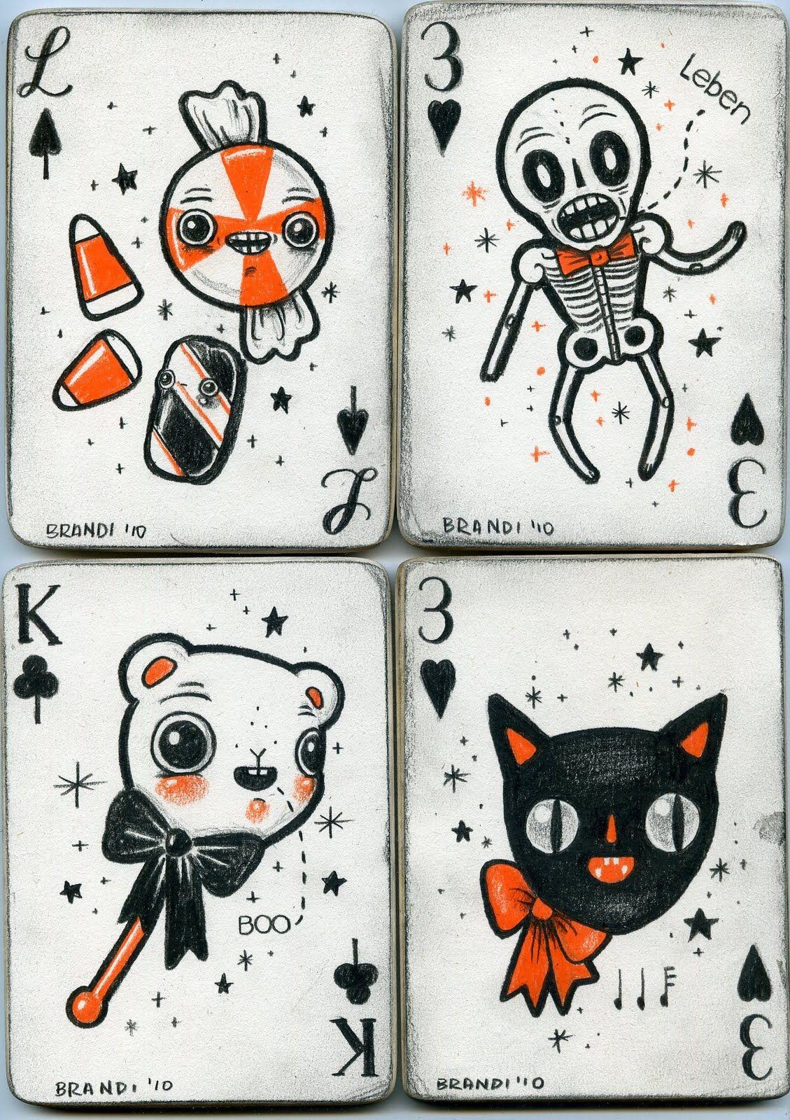 Halloween Cards By Brandi Milne