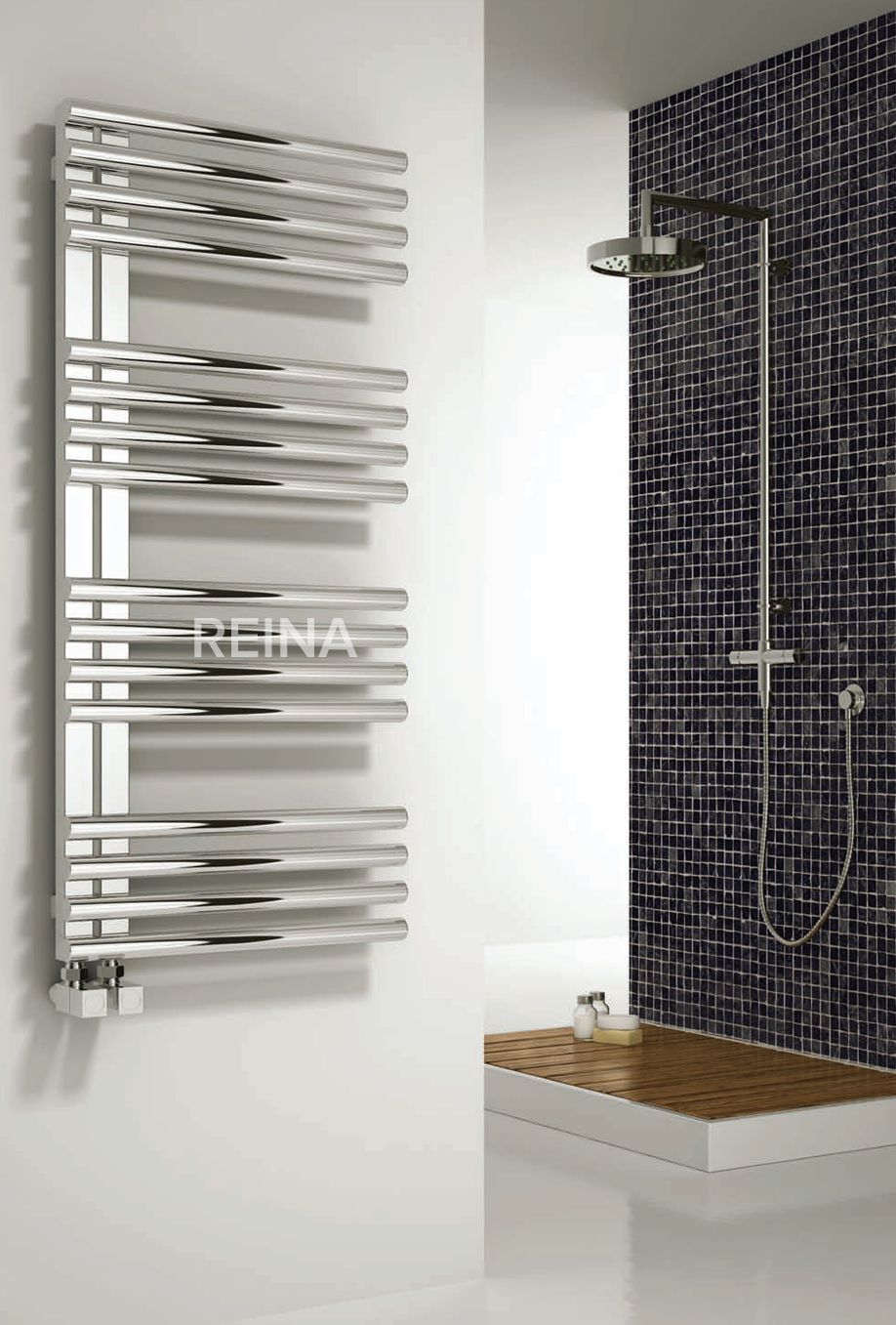 The Reina Adora heated towel rail is