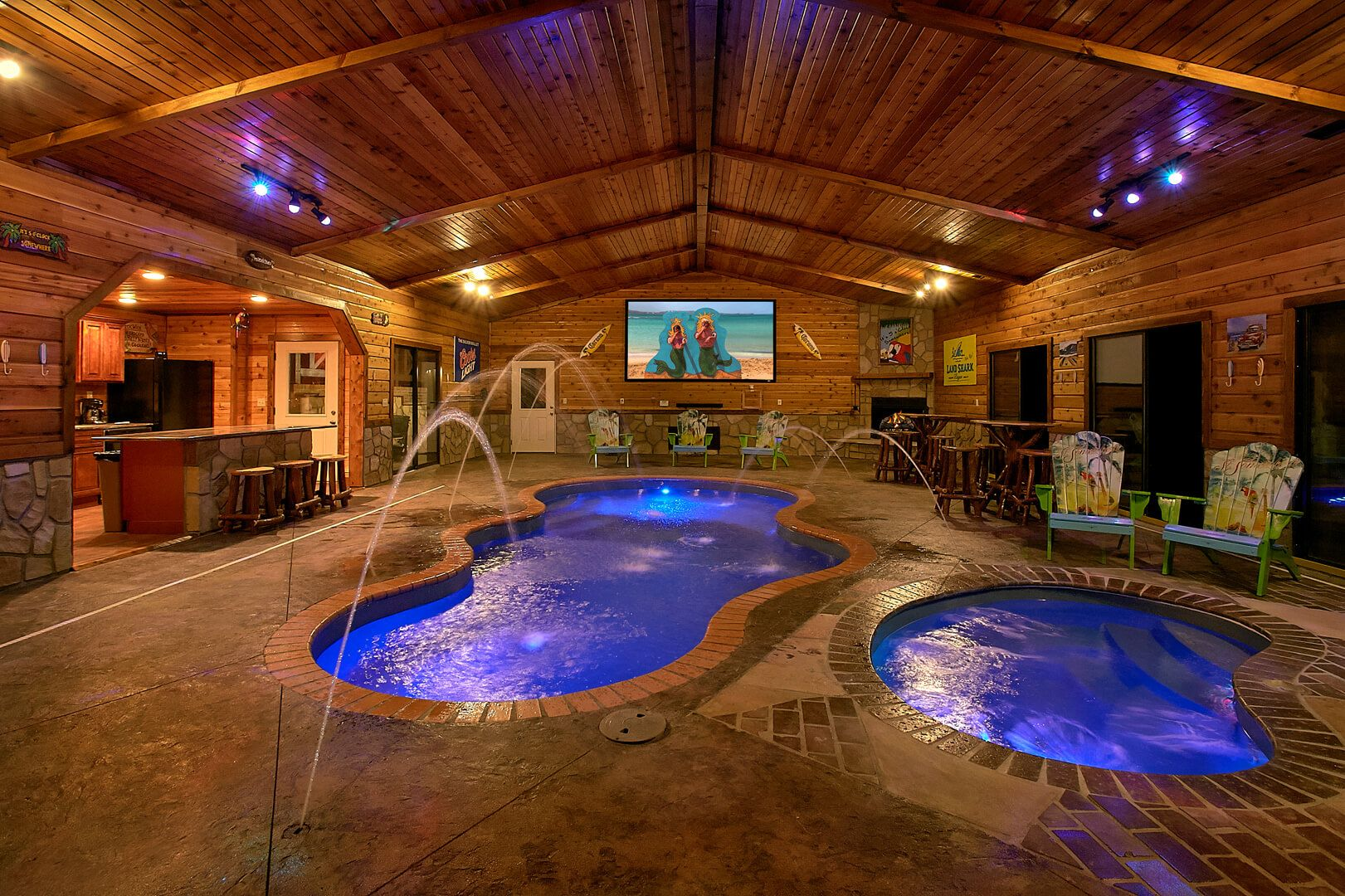 Mountain View Mansion Cabin In Gatlinburg With Images Pool
