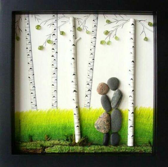 Creative diy ideas for pebble art crafts pintura en piedras creative diy ideas for pebble art crafts solutioingenieria Images