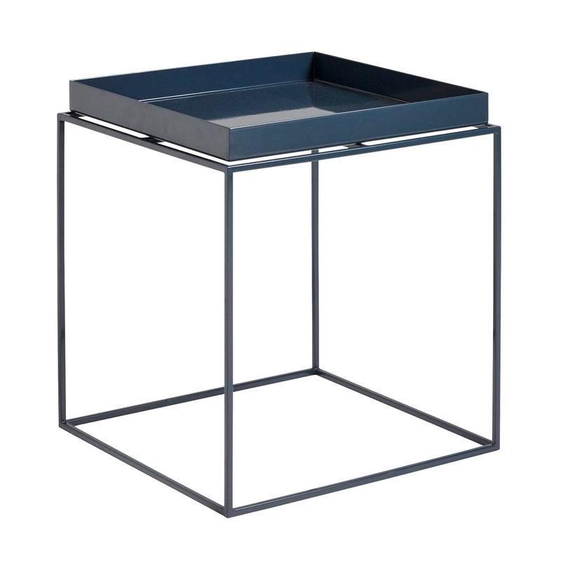 Hay Tray Table Medium Square Deep Blue In 2020 Hay Tray Table Hay Tray Small Tray Table