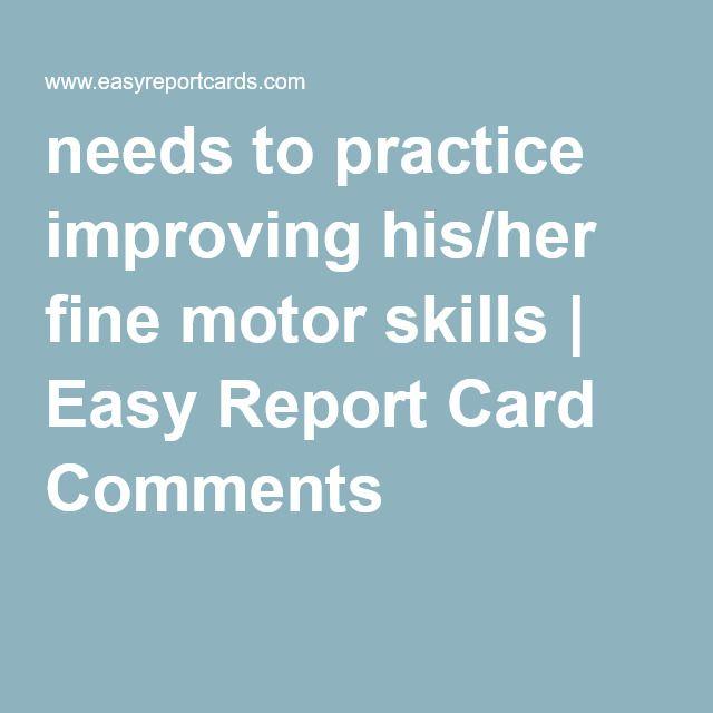 Needs To Practice Improving His Her Fine Motor Skills Easy