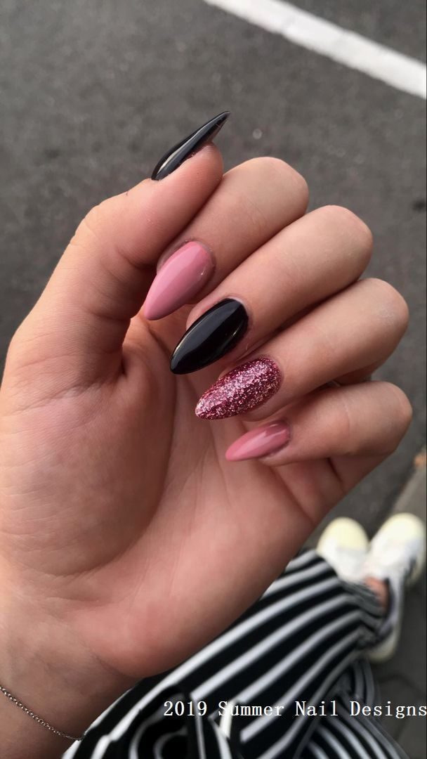 33 Cute Summer Nail Design Ideas 2019 #nailart #summernails #cutesummerhair