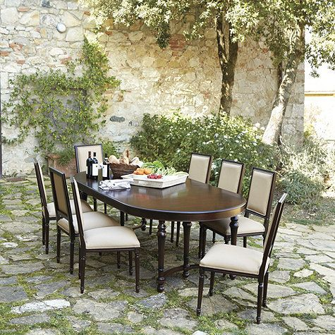 Farnese Dining Table Ballard Designs Dining Table Extension Dining Table Dining
