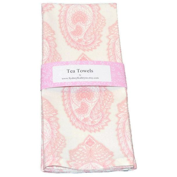 Tea Towel Dish Towel Hand Towel Shabby Cottage Decorative Etsy Decorative Kitchen Towels Shabby Cottage Tea Towels