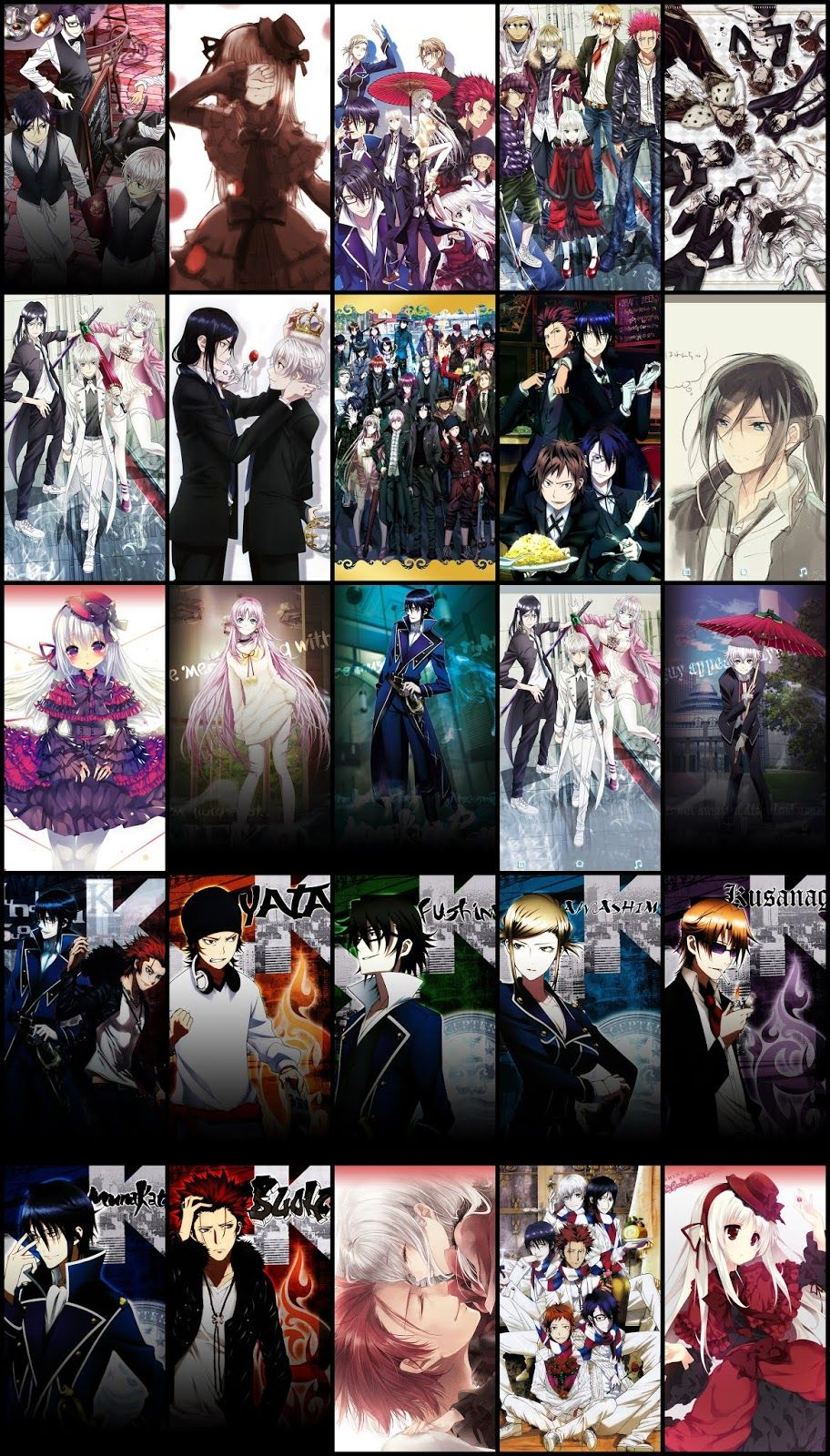 K Project Wallpaper Pack For Android Mobile Phone Part 01 Anime Wallpaper K Project K Project Anime