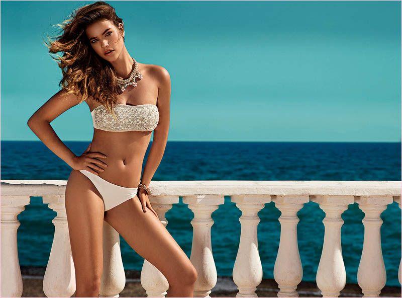 Barbara Palvin in Bikinis for Twin Set Beachwear Spring 2014 Campaign