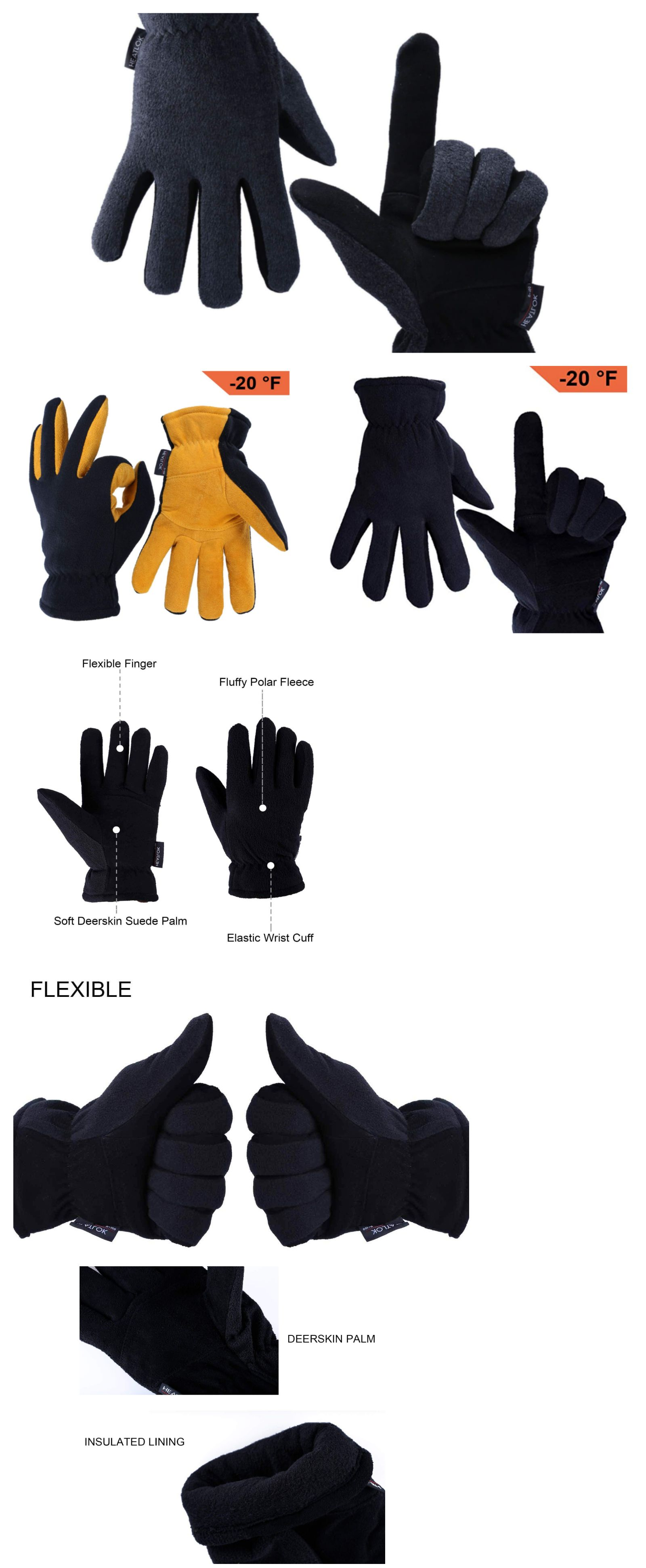 6c5fffc6e4409 Gloves and Mittens 169278: Ozero Winter Gloves Extreme Cold Weather 0Zero  Thermal Work Unisex Men Women New -> BUY IT NOW ONLY: $24.89 on #eBay # gloves ...