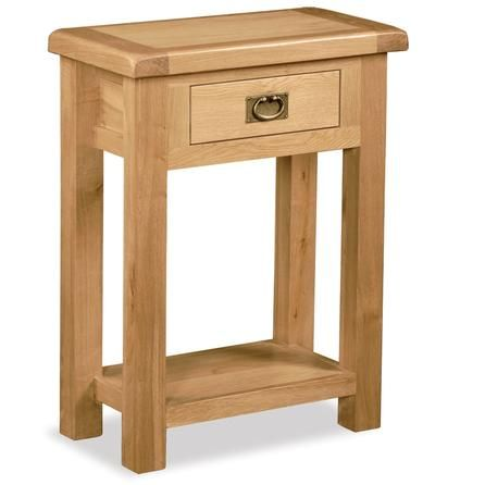 Chichester Oak Telephone Table Dunelm. Just an example but there ...