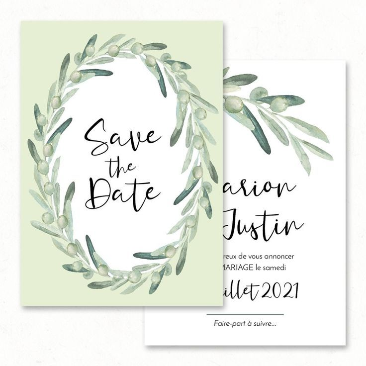 Save The Date Inspiration Mariage En 2019 Peindre A L