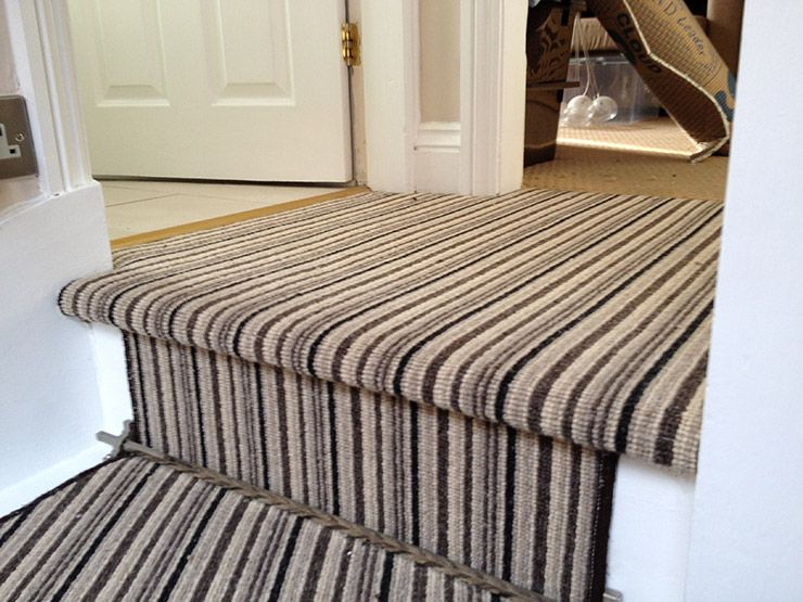 Stair And Landing Carpet Google Search Carpet Stairs Carpet Installation Diy Interior Doors
