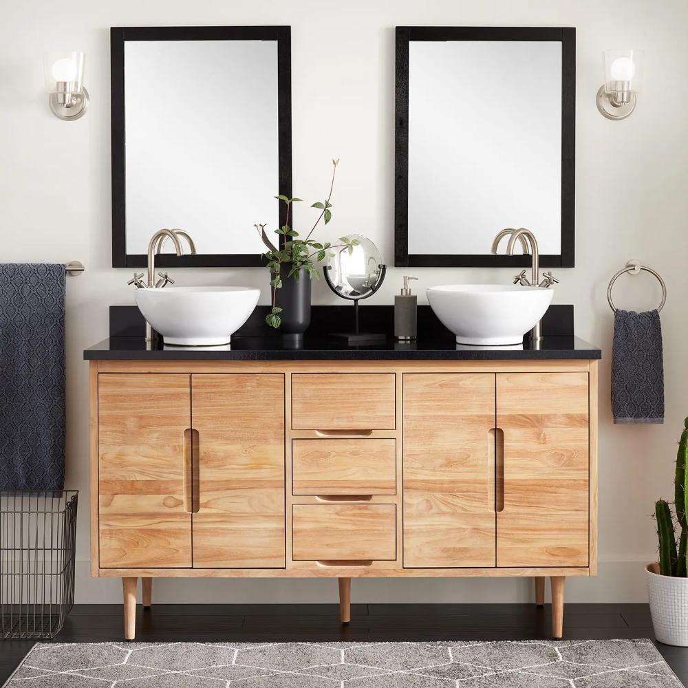 30+ Teak bathroom vanity ideas