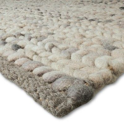Ivory Chunky Braided Wool Rug 7 X10 Project 62 In 2019