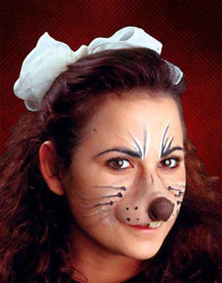 mouse makeup - Google Search   Lilly\'s Purple Plastic Purse Makeup ...