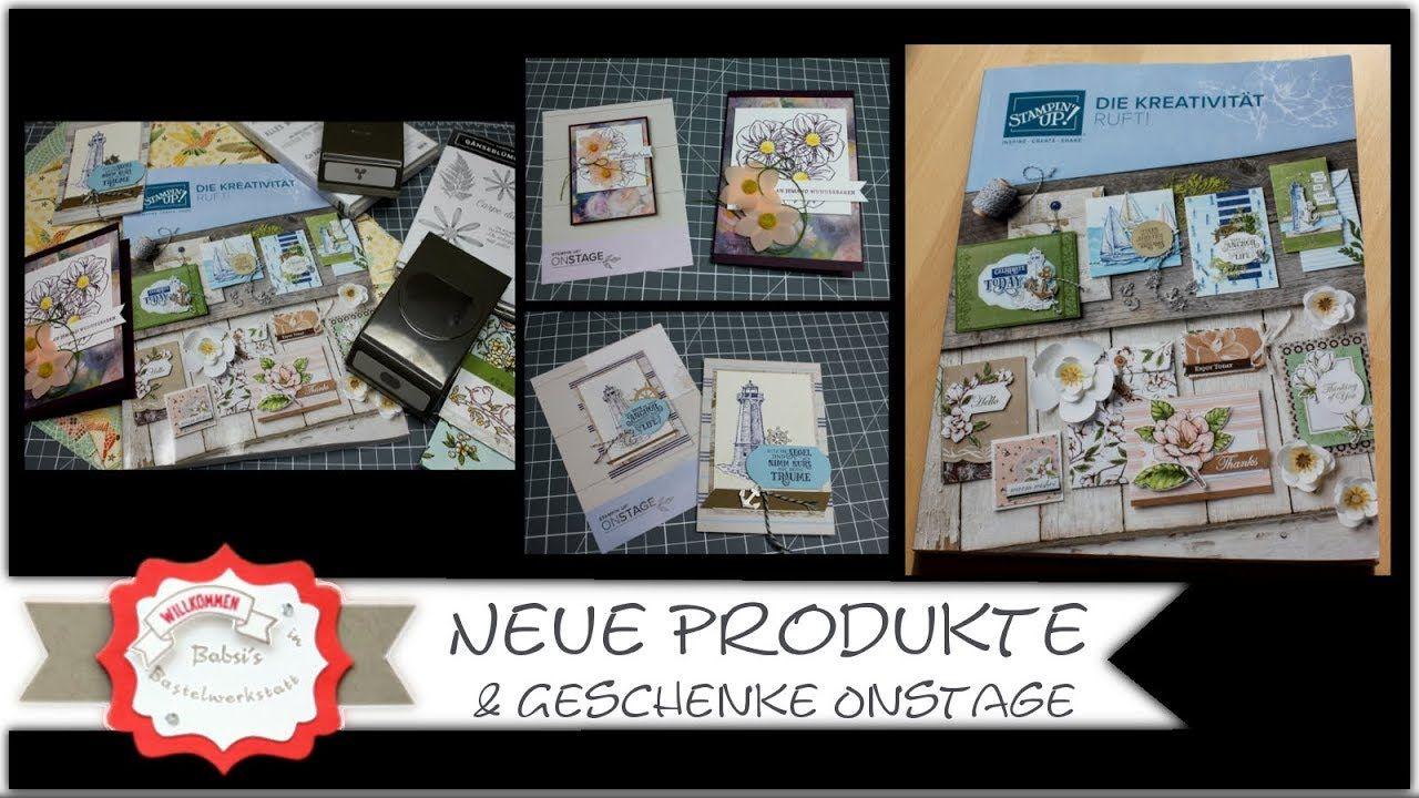 Neue Produkte von Stampin´Up! Produktvorschau Jahreskatalog