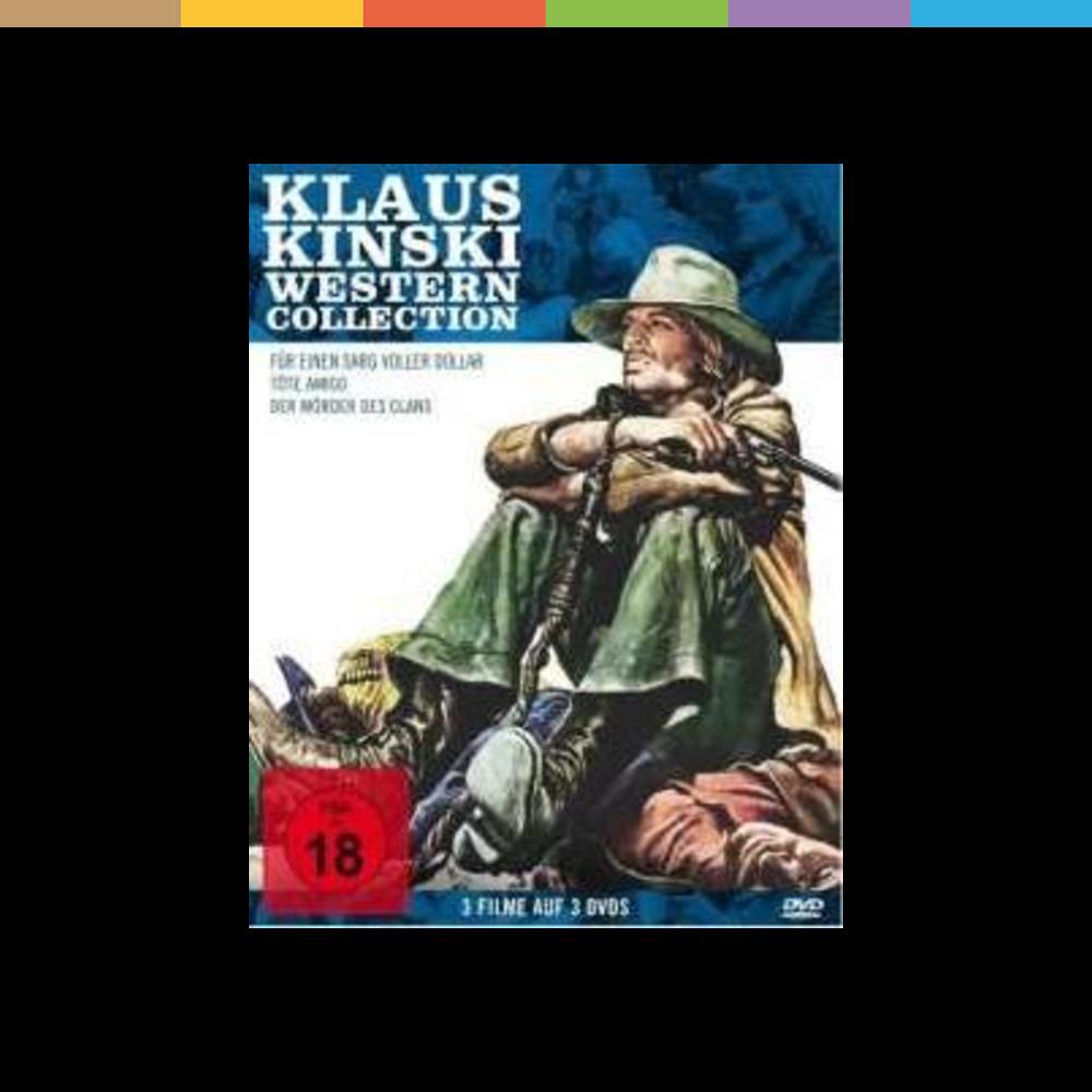 Neben den legendären Arbeiten für seinen  liebsten Feind  Werner Herzog ist Klaus Kinski der Filmwelt vor allem für seine psychopathischen Westerncharaktere in Erinnerung geblieben. Kaum ein Italo-Klassiker kommt ohne einen der manisch agierenden Charaktere aus, mit denen sich die Schauspiellegende einen Namen gemacht hat. Drei der legendärsten Genre-Meisterwerke veröffentlicht Koch Media nun erstmals in einer Box.