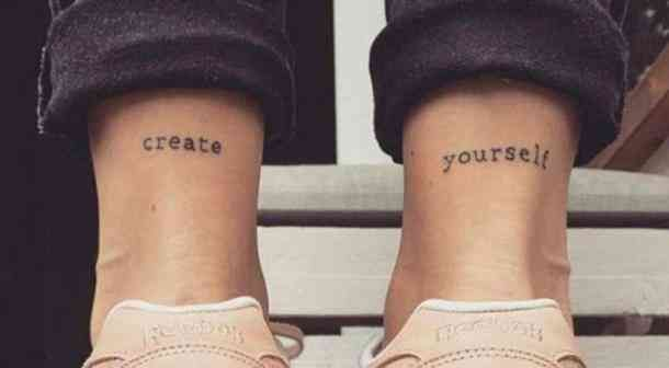 25 Self Love Tattoos With Deep Meanings To Remind You To Love Yourself As You Are Self Love Tattoo Writing Tattoos Simplistic Tattoos