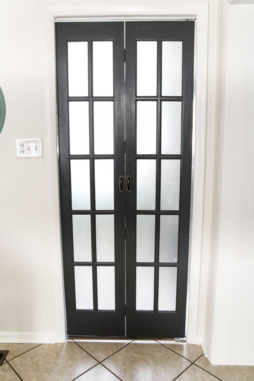 Laundry Room Updates French Bifold Door Glass Closet Doors
