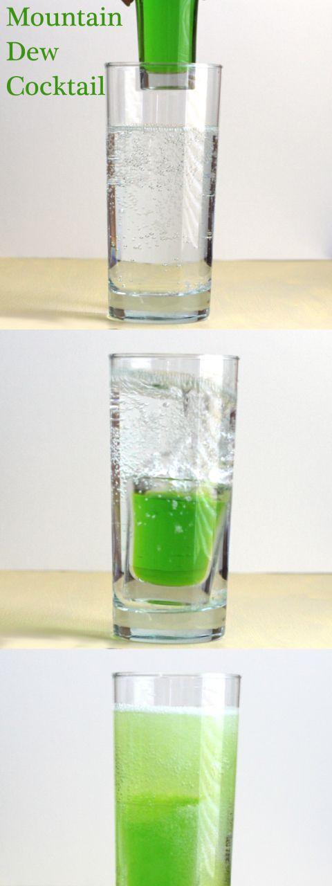 Mountain Dew Mixed Vodka