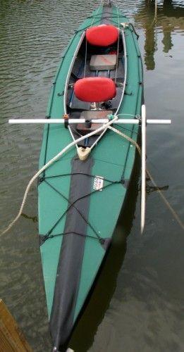 Used Tandem Kayak | Folbot Greenland ll Folding Tandem Kayak