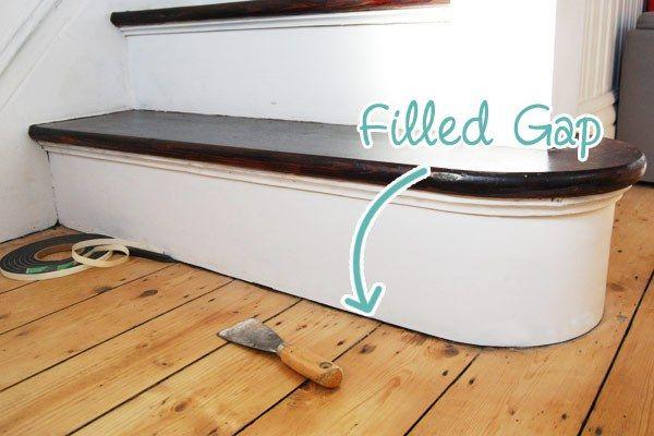 Sealing Gap Between Skirting And Floor Flooring Home Remodeling Bathroom Flooring