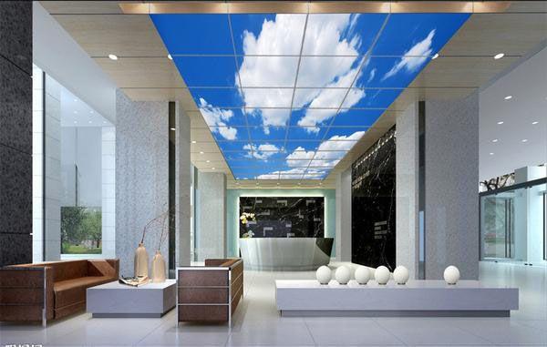 LED Sky Ceiling Panel Light 30W-72W Epistar LED Panel Lights ...