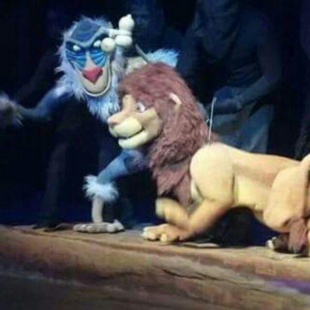 Rafiki y Simba.
