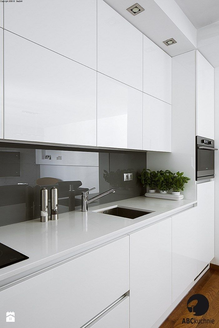 Inspirational White Cabinets Grey Countertops