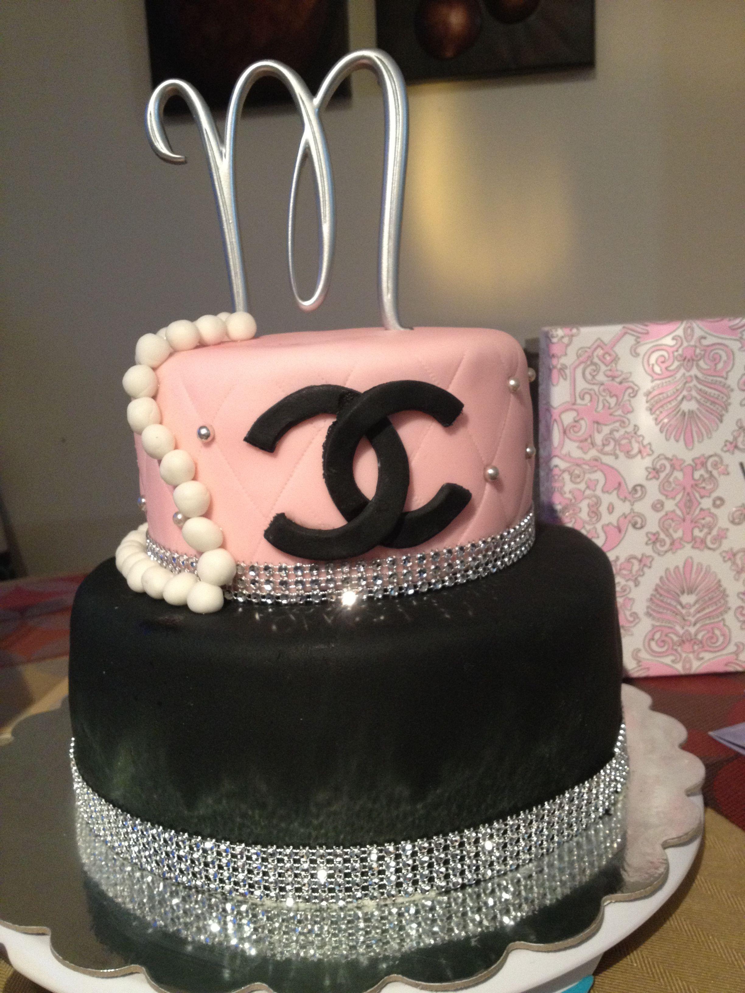 Coco Chanel Fondant Cake Fashionista S In Paris