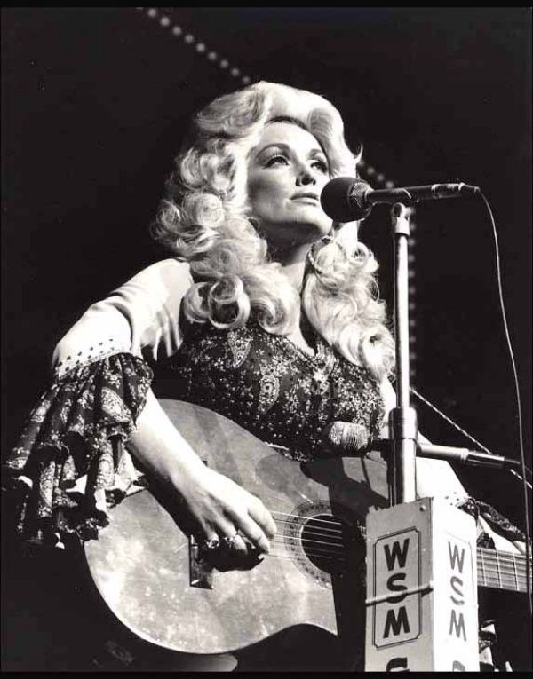 Storms make trees take deeper roots - Dolly Parton Burlesque