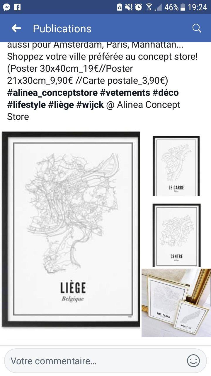 Alinéa Concept Store 3 Tailles 20 Posters Liège Entrée