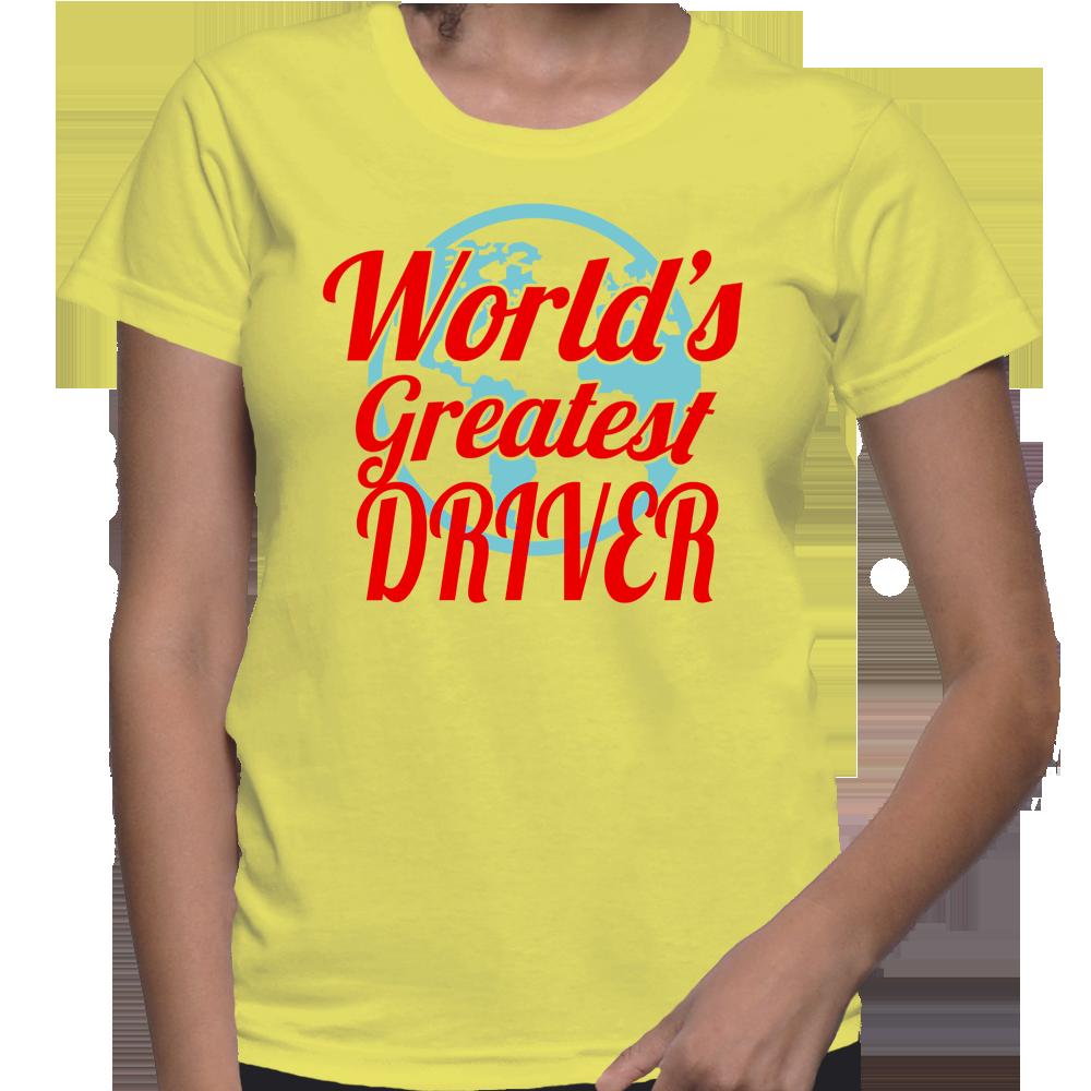 World's Greatest Driver T-Shirt