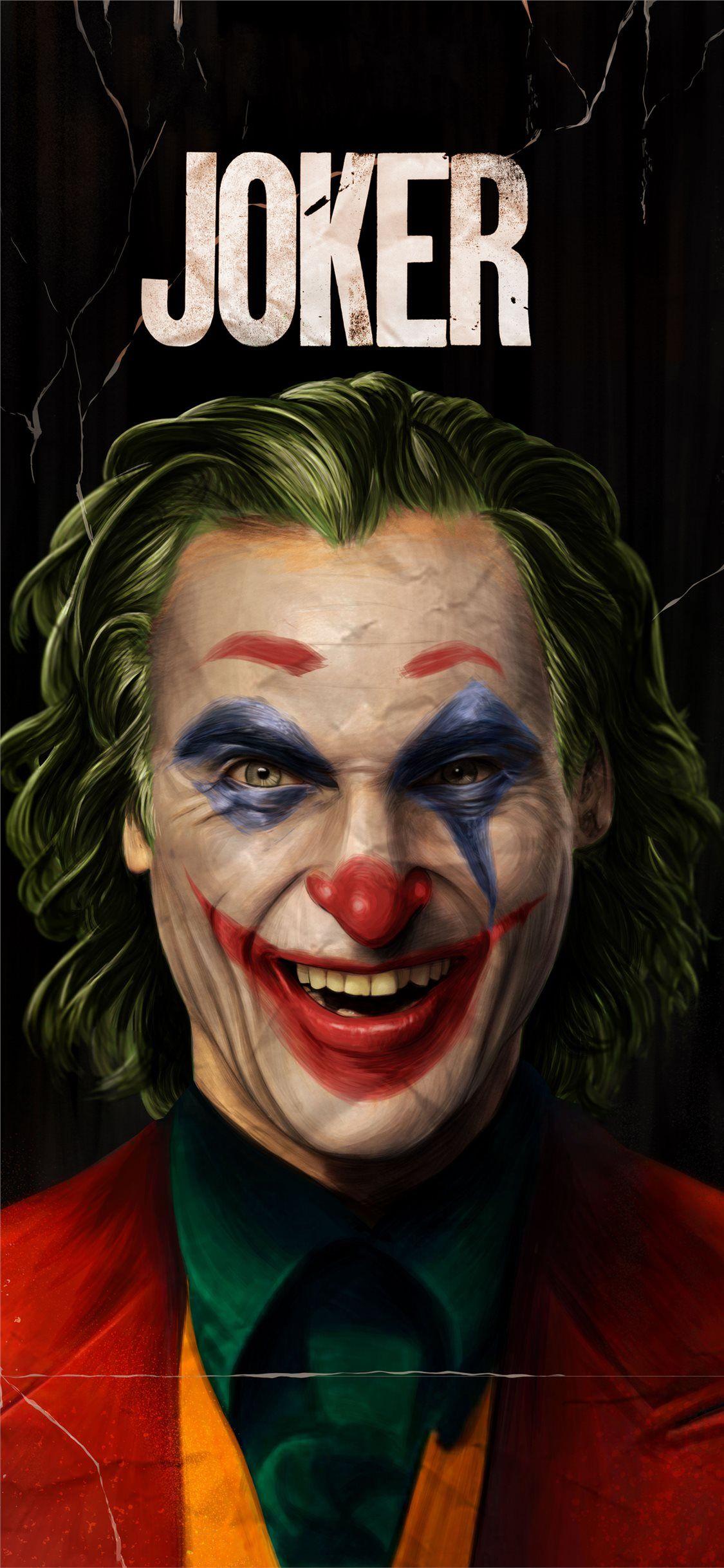 5k joker joaquin phoenix 2019 iPhone X Wallpapers Joker