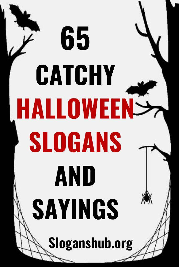 catchy halloween slogans | hallowen