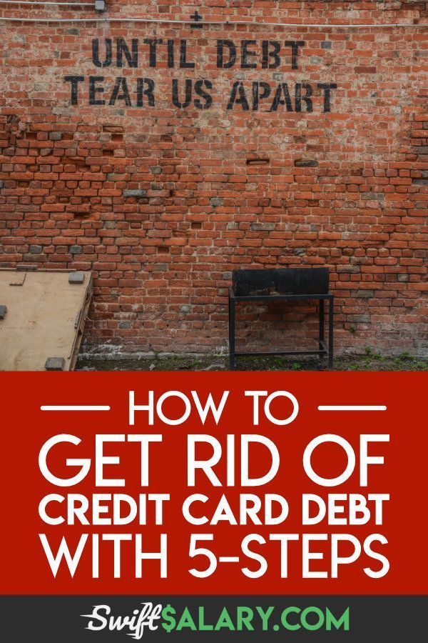 how to get rid of credit card debt fast  5