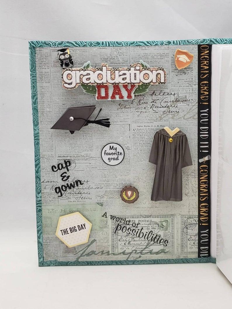 personalized *Great for Seniors* 4X6 Graduation photo album