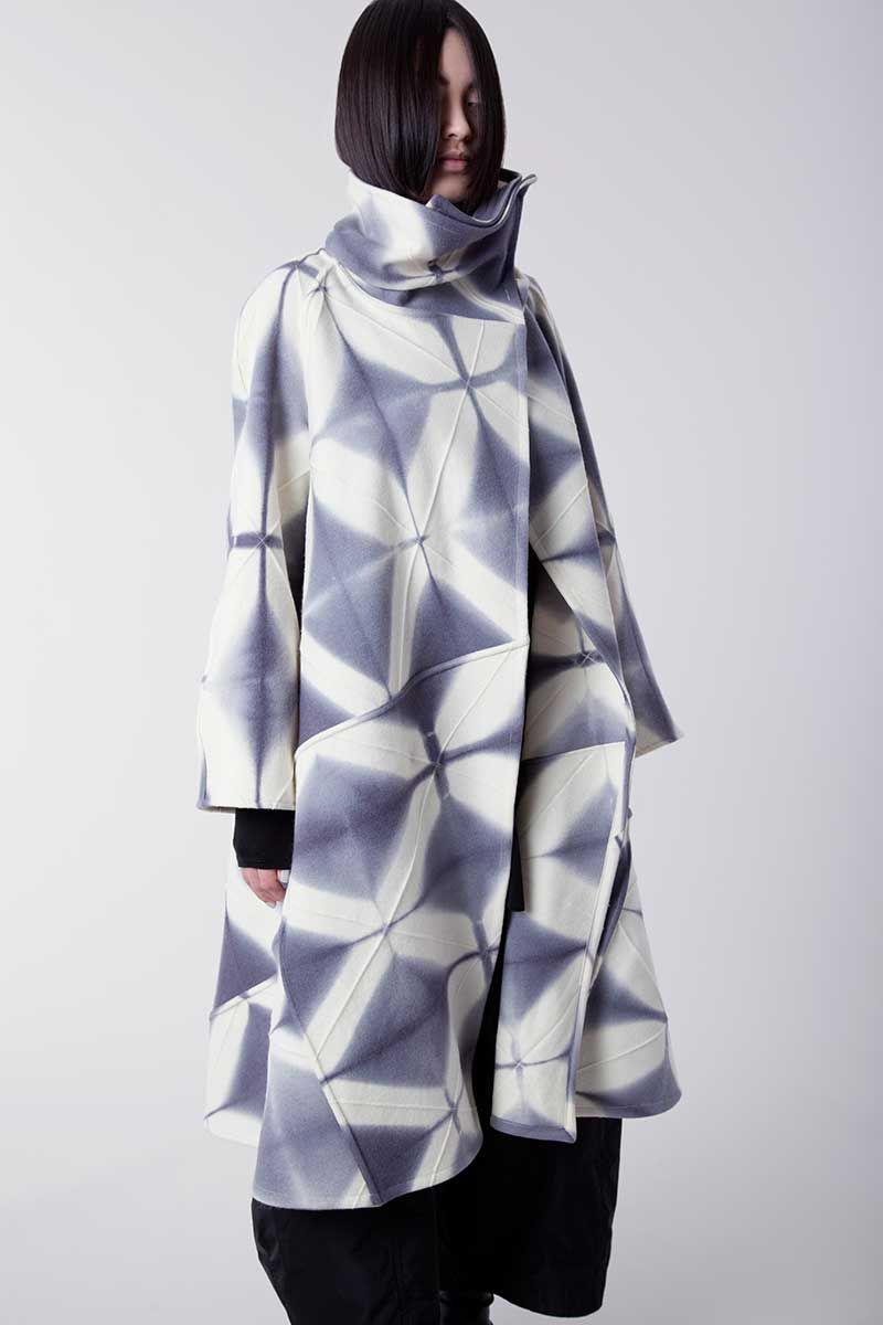 Amy Nguyen Textiles - Shibui - Long Swing Coat: Ultramodern ...
