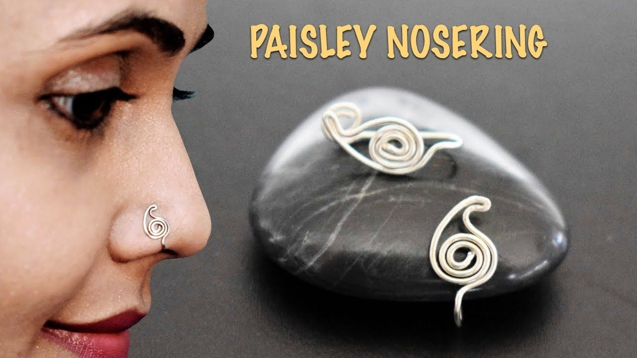Paisley Nosering | Very Easy Noserpin | VHMJ