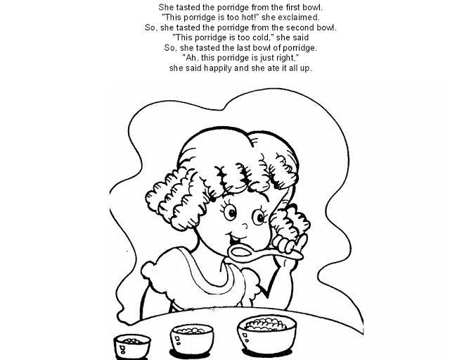 Educação Infantil - Atividades para o Maternal: Cachinhos Dourados e ...