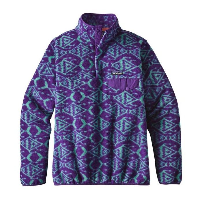 Patagonia Women S Synchilla Lightweight Snap T Fleece Pullover Fleece Pullover Patagonia Womens Womens Fleece
