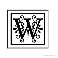 Bildergebnis für letter w