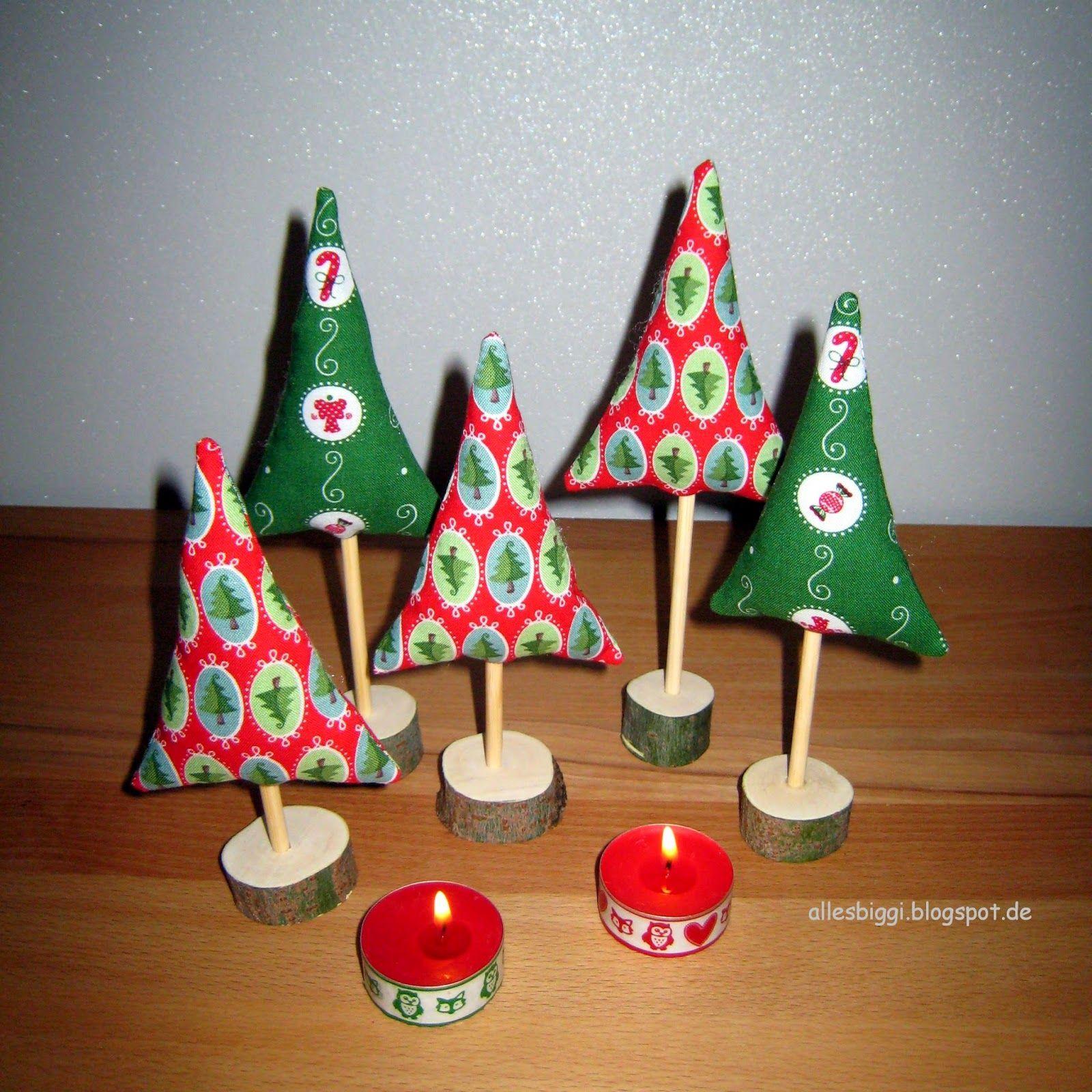 Genahte Weihnachtsbaumchen Weihnachtsbaum Nahen