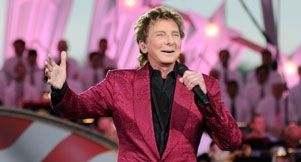 Barry Manilow guest on The Talk show 12-15-14