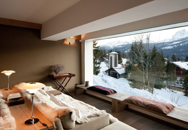 contemporary luxury ski